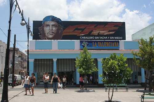 Marktplatz in Cienfuegos auf Kuba