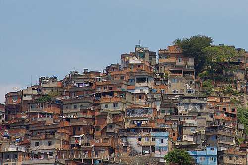 Armenviertel in Brasilien